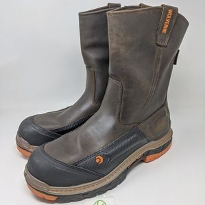 """Wolverine Overpass 10"""" Composite Toe work boots"""